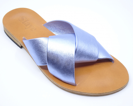 Slaye 905 - 89,00 € - metallic jeansblauw 37/38/39/40
