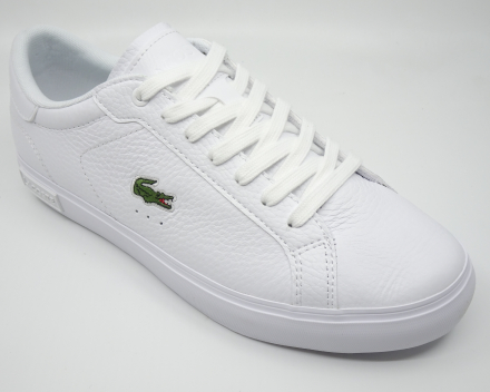 Lacoste Powercourt - 90,00 € - wit 40/41/42/42.5/43/44/45/46