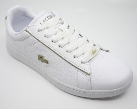 Lacoste Carnaby Evo - 110,00 € - wit/goud 37/37.5/38/39/40/41