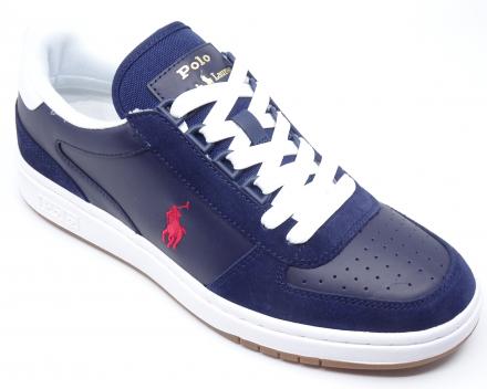 Ralph Lauren Polo Court - 99,00 € - blauw/rood 40/41/42/43/44/45