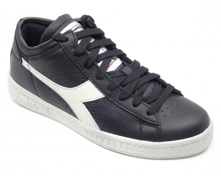 Diadora Game L Waxed Row Cut - 95,00 € - zwart/wit 37/38/38.5/39/40/41