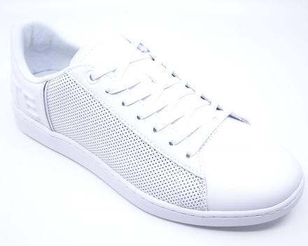 Lacoste Carnaby Evo Perf - (110,00 €) nu 88,00 € - wit 40/41/42/43/44/45