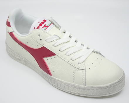 Diadora Game L Low Waxed - nu 70,00 € - wit/rood 44
