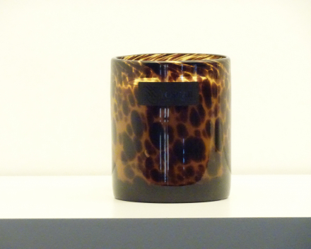 OSCAR candles - leopard small - witte was - 40,00 €