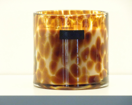 OSCAR candles - leopard large - witte was - 80,00 €